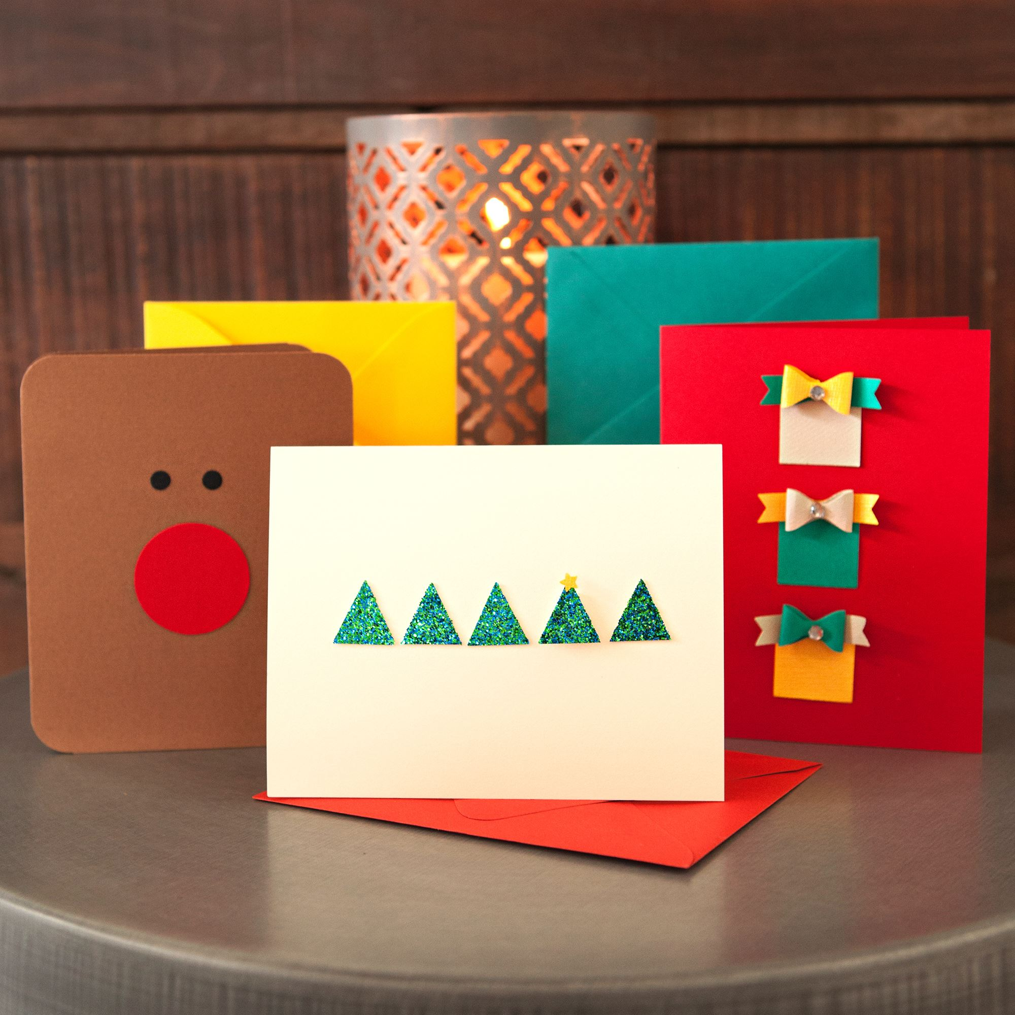 Diy Modern Holiday Cards